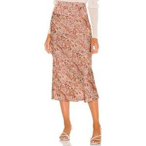 Free People Normani Bias Skirt 6